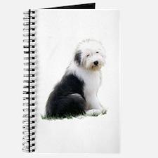 old english sheepdog puppy sitting Journal