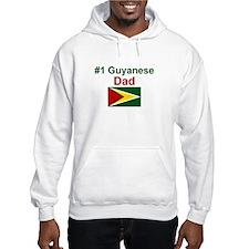 Guyana-#1 Dad Hoodie