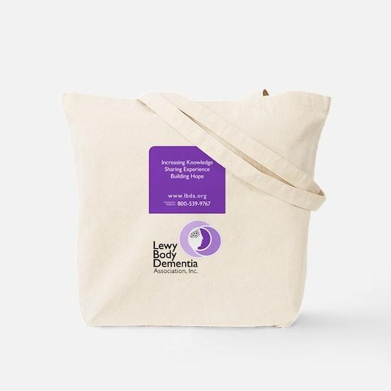 Unique Lbd lbda dementia pdd lewy Tote Bag
