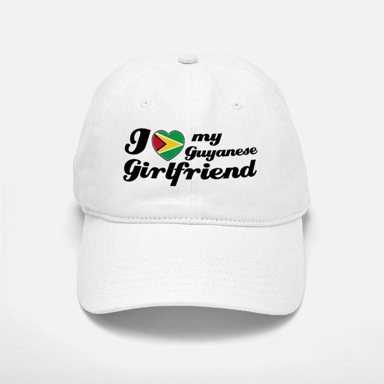 I love my Guyanese Girlfriend Baseball Baseball Cap