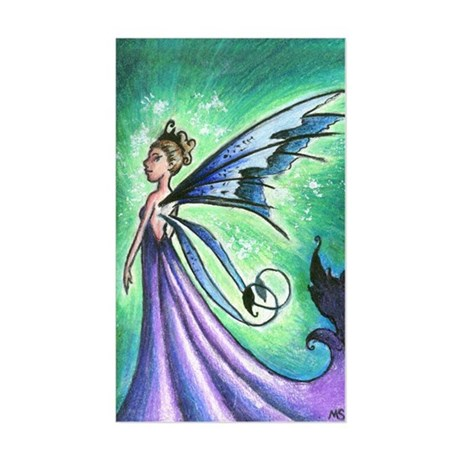 Queen Mab fairy Rectangle Sticker