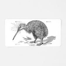 Vintage Kiwi Bird New Zeala Aluminum License Plate