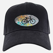 Colored Bikes Design Baseball Hat