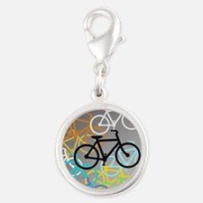 Colored Bikes Design Charms