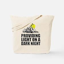 Funny Linemen Tote Bag