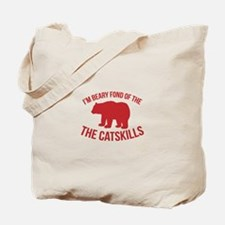 Beary Fond of the Catskills Tote Bag