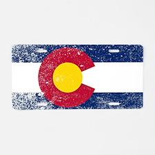 Unique United states flag colors Aluminum License Plate