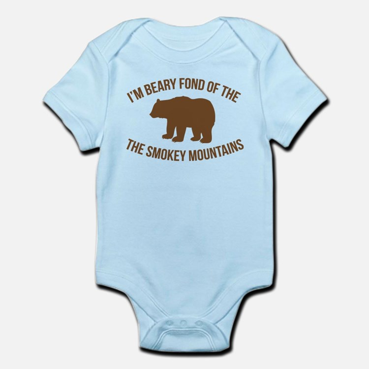 Beary Fond of the Smokey Mountains Body Suit