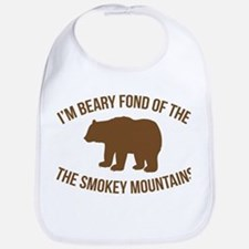 Beary Fond of the Smokey Mountains Bib