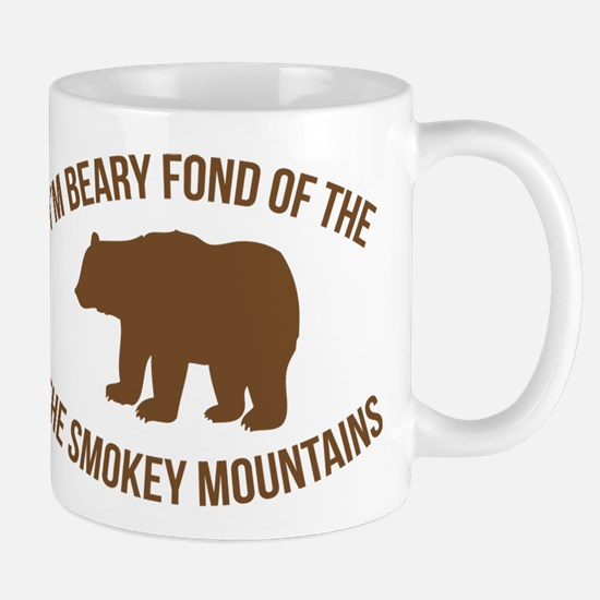 Beary Fond of the Smokey Mountains Mugs