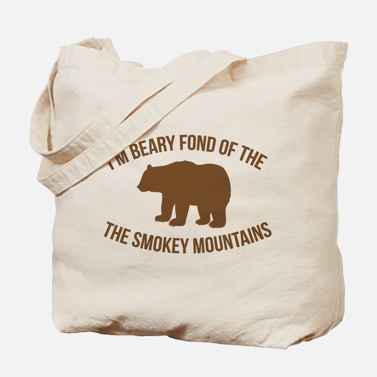 Beary Fond of the Smokey Mountains Tote Bag