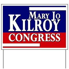 Mary Jo Kilroy for Congress Yard Sign