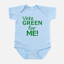 Vote Green 4 Me Body Suit