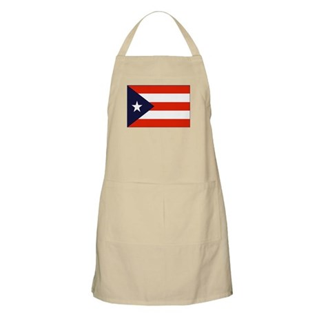 Flag of Puerto Rico 4 BBQ Apron
