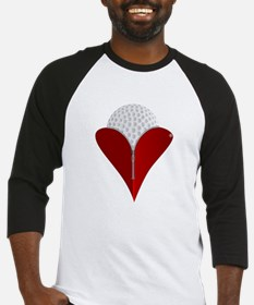 Love Golf Baseball Jersey