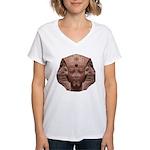 Sphinx Women's V-Neck T-Shirt