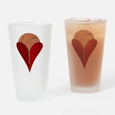 Unique Opened zipper Drinking Glass