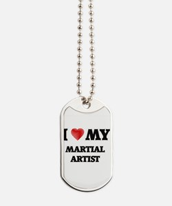 I love my Martial Artist Dog Tags