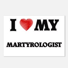 I love my Martyrologist Postcards (Package of 8)