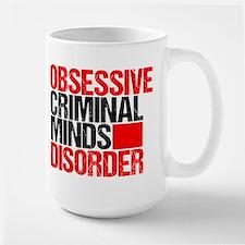 Criminal Minds Obsession Large Mug