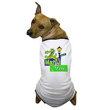 Gator at Mardi Gras Dog T-Shirt