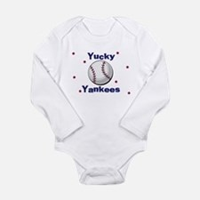 Yucky Yankees Infant Creeper Body Suit