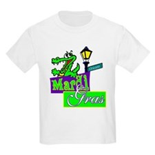 Gator at Mardi Gras  T-Shirt
