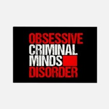Criminal Minds Obsession Rectangle Magnet