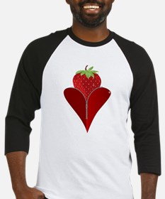Love Strawberry Baseball Jersey