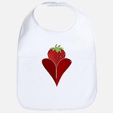 Love Strawberry Bib