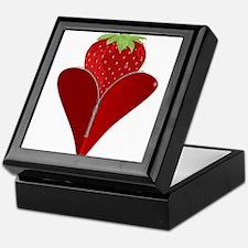 Love Strawberry Keepsake Box