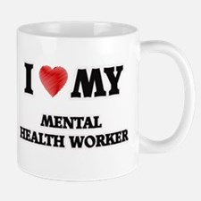 I love my Mental Health Worker Mugs
