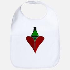 Poison Heart Bib