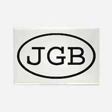 JGB Oval Rectangle Magnet