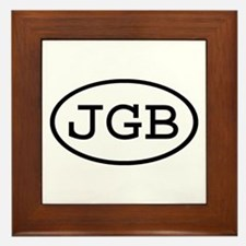 JGB Oval Framed Tile