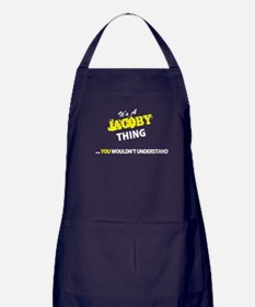 JACOBY thing, you wouldn't understand Apron (dark)