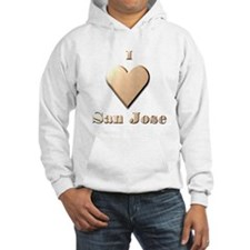 I Love San Jose #8 Hoodie