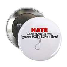 "Hate Symbol 2.25"" Button"