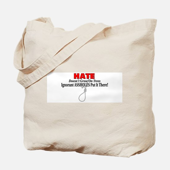 Hate Symbol Tote Bag