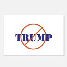 Anti Trump, no Trump Postcards (Package of 8)
