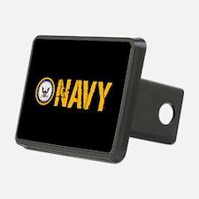 U.S. Navy: Navy (Black) Hitch Cover