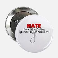 """Hate Symbol 2.25"""" Button"""