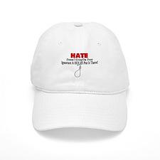 Hate Symbol Baseball Cap