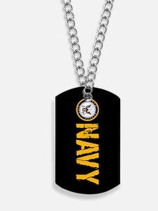 U.S. Navy: Navy (Black) Dog Tags