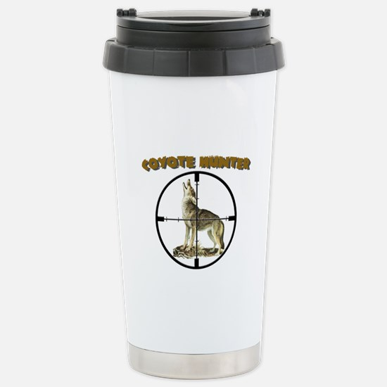 COYOTE HUNTER Stainless Steel Travel Mug