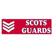 Scots Guards LSgt Bumpersticker 1