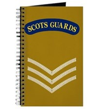 Scots Guards LSgt<BR> Deployment Log Book
