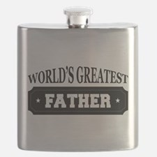 Worlds Greatest Father Flask