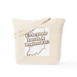 Everyone Loves A Region Rat Tote Bag