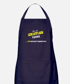 KRISTIAN thing, you wouldn't understa Apron (dark)